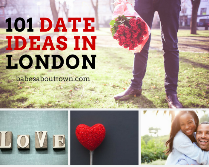 101 date ideas in London