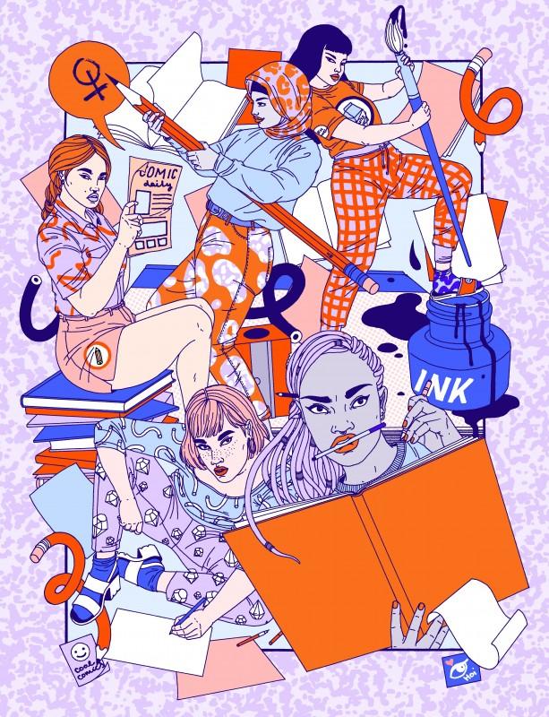 House of Illustration Comic Creatrix laura-callaghan-lead-image-for-comix-creatrix