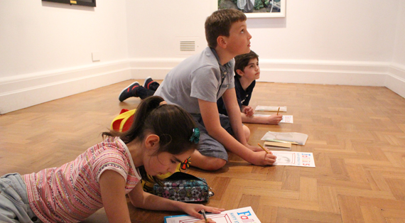 National Portrait Gallery half term workshops