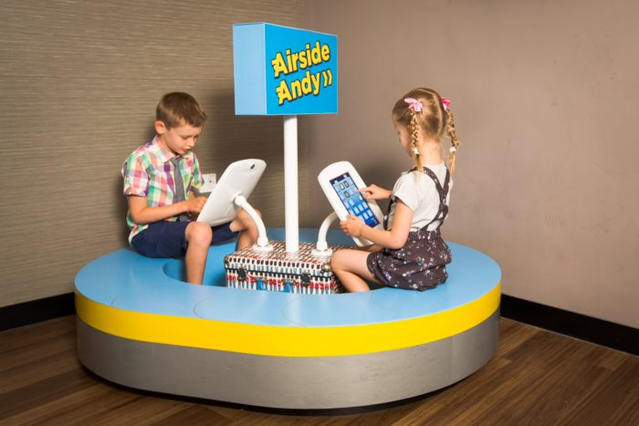 Airside Andy play pods