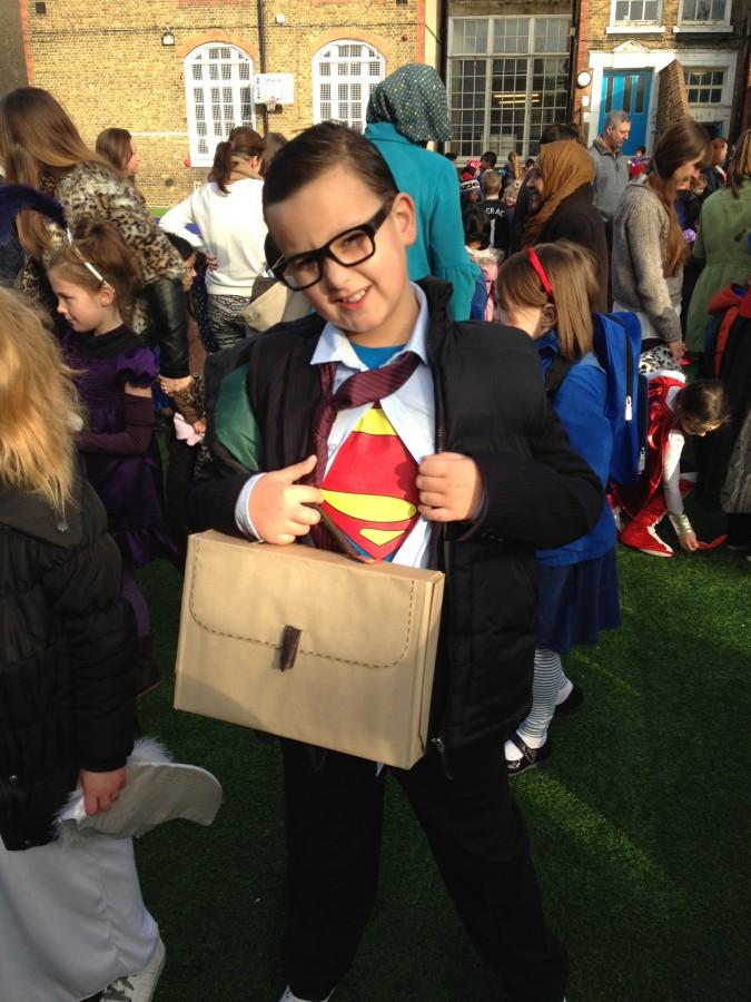 World Book Day Clark Kent