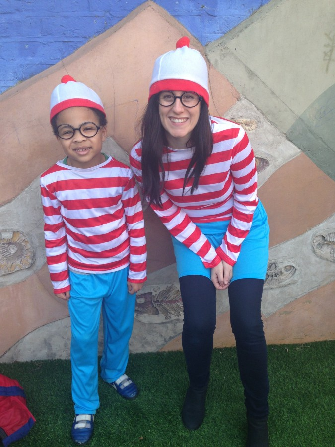 World Book Day Where's Wally and Wenda