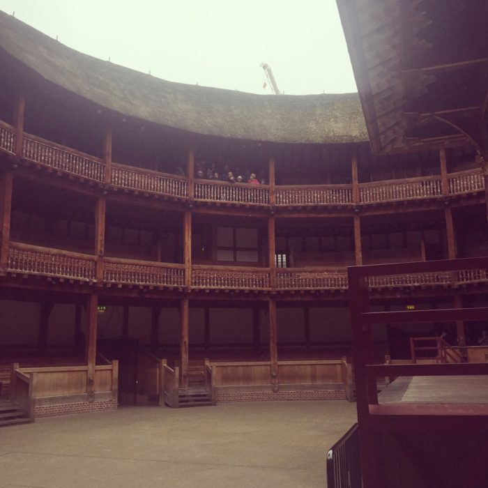 Shakespeares Globe Theatre seats