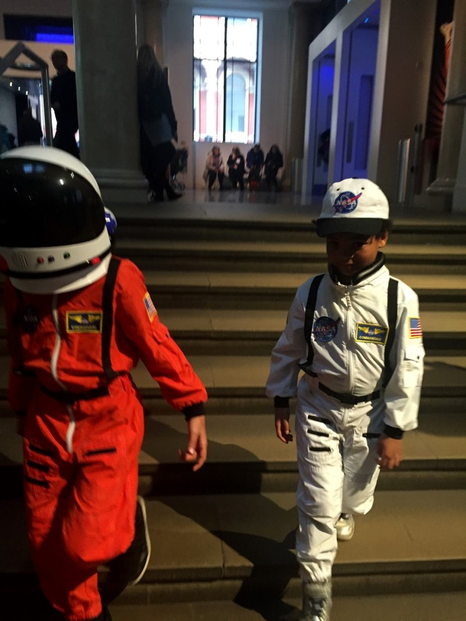 Space Kids Landing at Science Museum