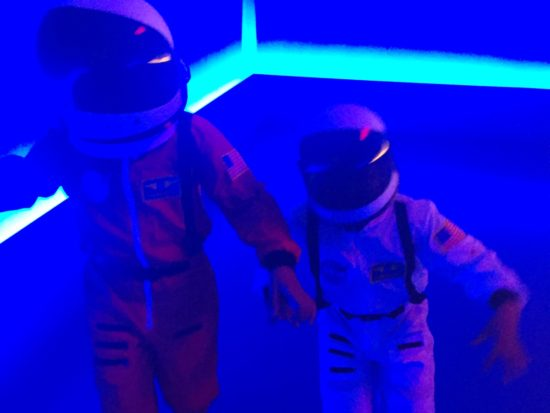 Space Kids Moonwalk