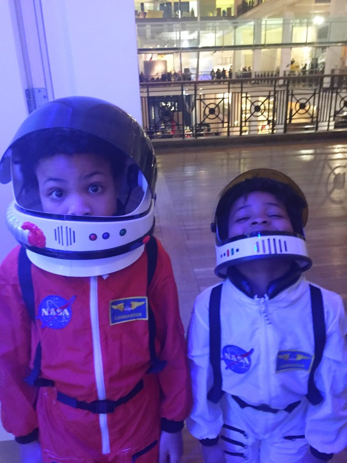 Space Kids at Science Museum