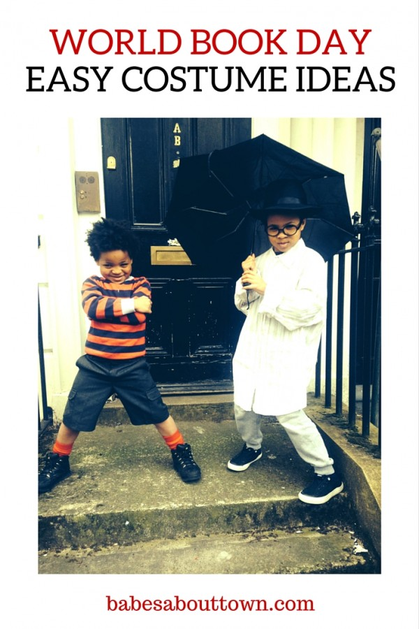 World Book Day Easy Costume Ideas