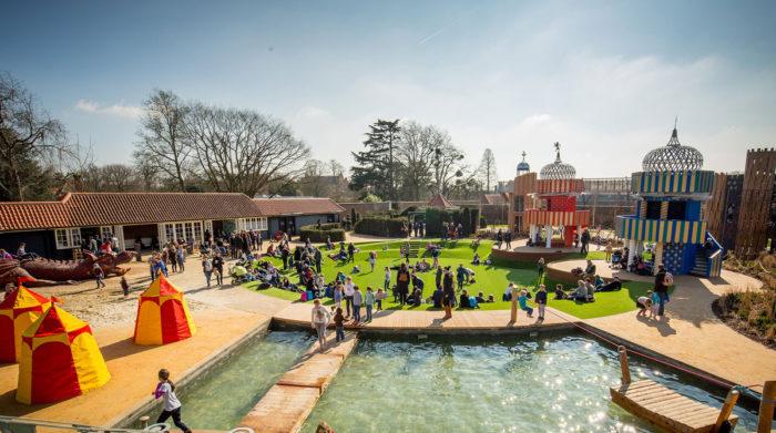 Hampton Court Palace Magic Garden