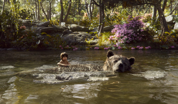 The Jungle Book Mowgli with Baloo