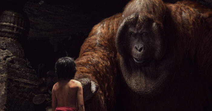 The Jungle Book Mowgli with King Louie