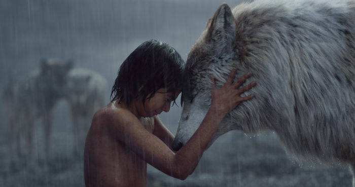 The Jungle Book Mowgli with Raksha