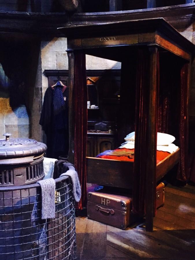 Harry Potter tour Gryffindor boys dorm