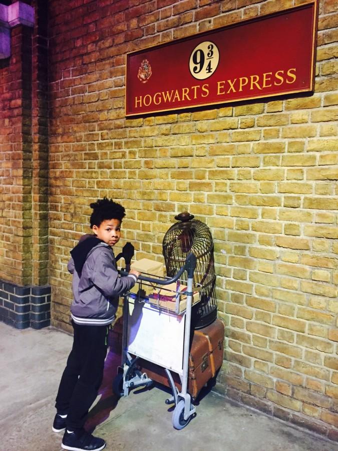 Harry Potter tour Platform 9 3:4