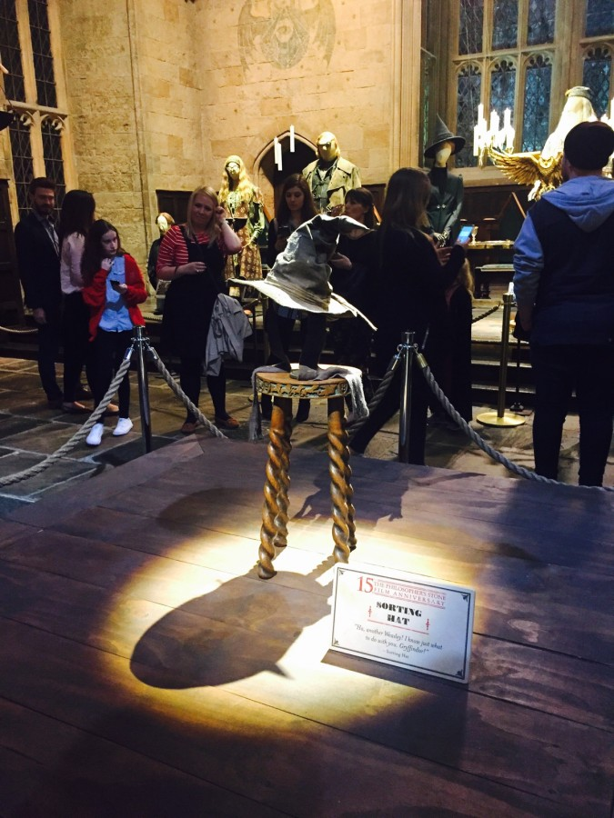 Harry Potter tour sorting hat