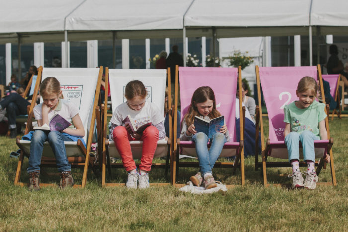 Hay Festival kids