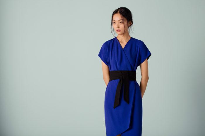 Lyst Capsule Wardrobe Finery London Obi wrap dress