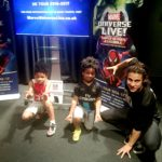 Marvel Universe Live! Preview at Disney Store