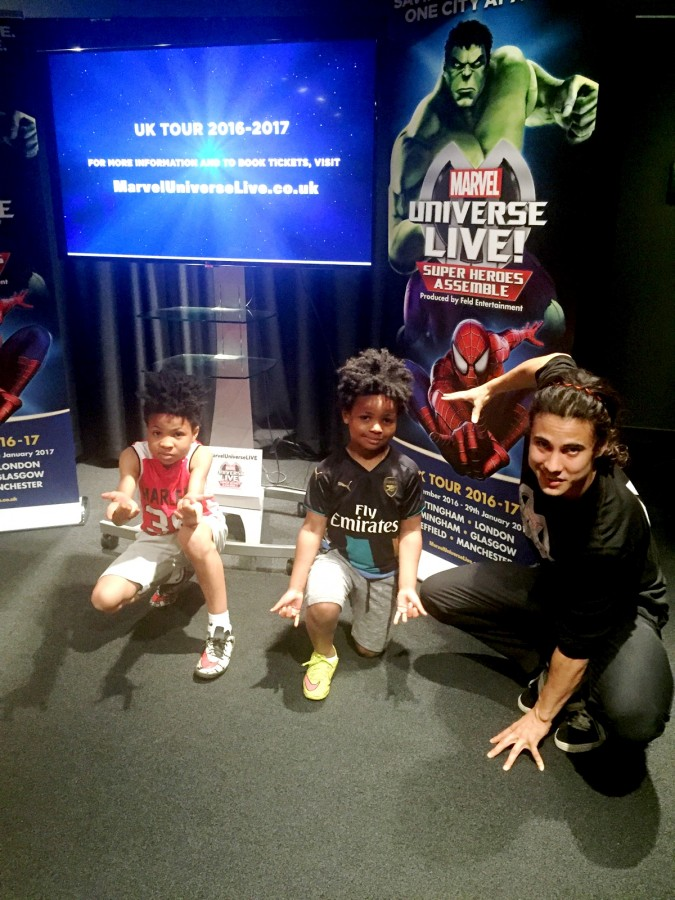 Marvel Universe Live Spiderman