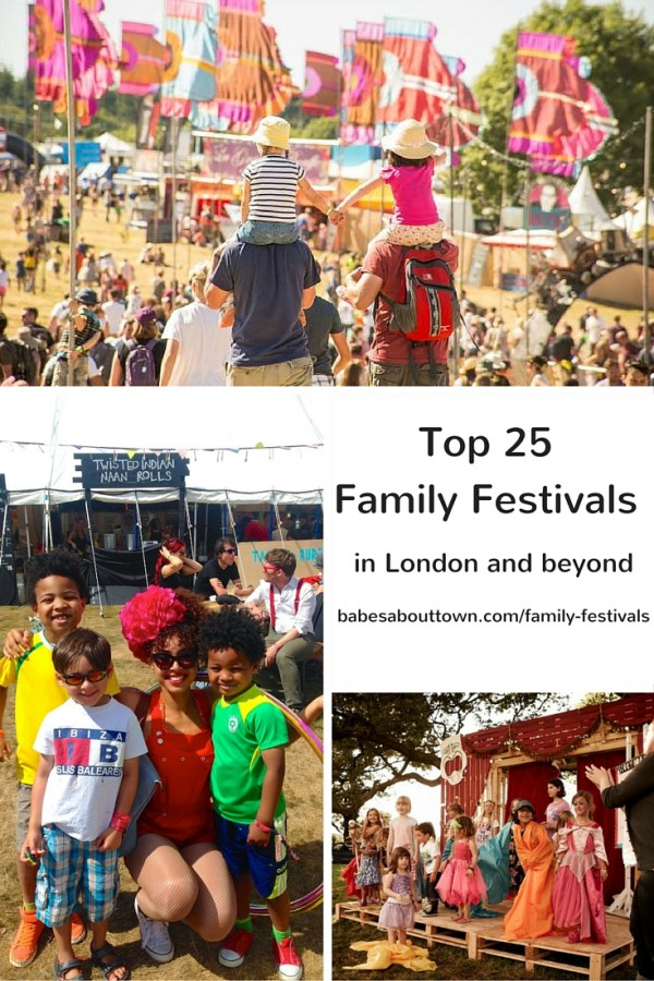 Top 25 Family Festivals London