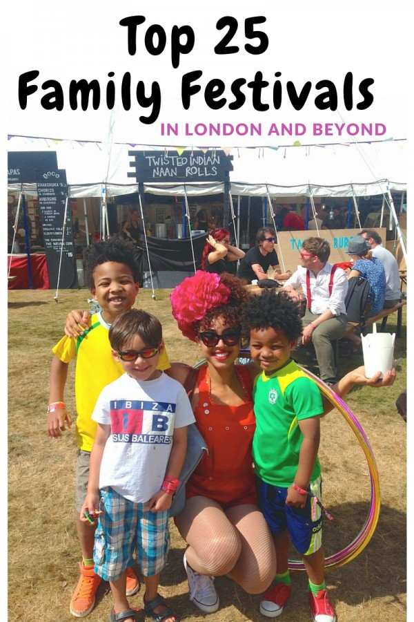 Top 25 Family Festivals in London and beyond