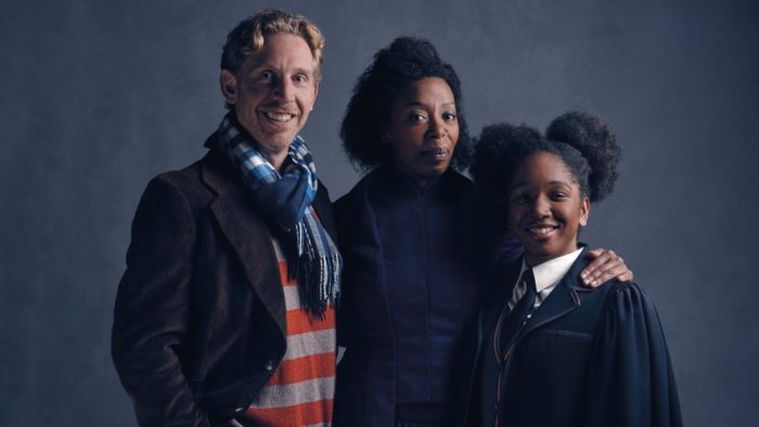 Harry Potter and the Cursed Child - Paul Thornley as Ron, Noma Dumezweni as Hermione and Cherrelle Skeete as Rose