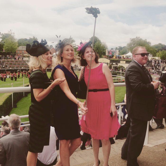 Royal Ascot selfie