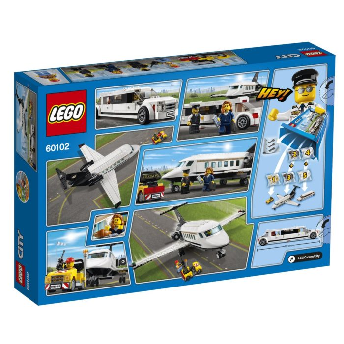 Airside Andy giveaway LEGO City Airport VIP Service