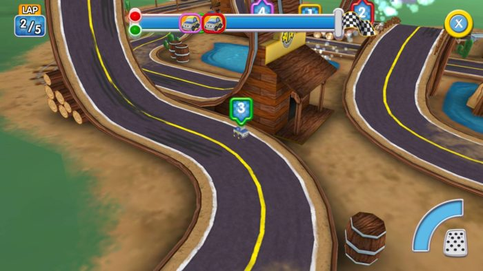 Airside Andy racing car game