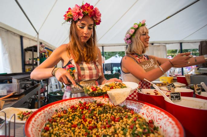 Camp Bestival Feast Collective