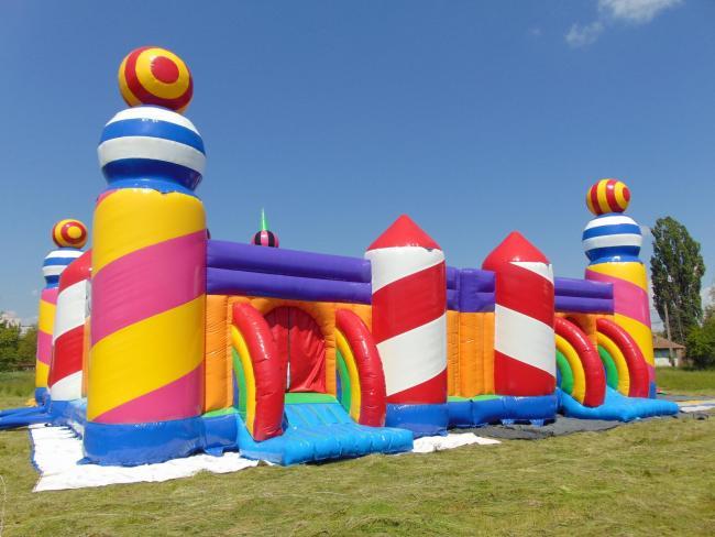Camp Bestival Worlds Biggest Bouncy Castle