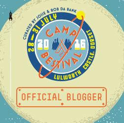 Camp Bestival blogger badge 2016