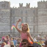 Camp Bestival castle