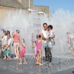 Festival of Love Jeppe Hein fountains