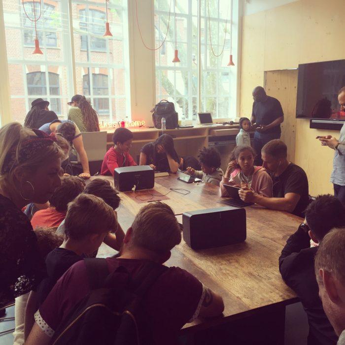 Mista Jam Sonos Studios beatmaking session