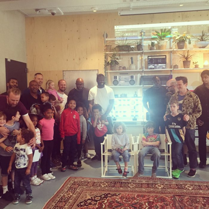 Mista Jam Sonos Studios families on Fathers Day