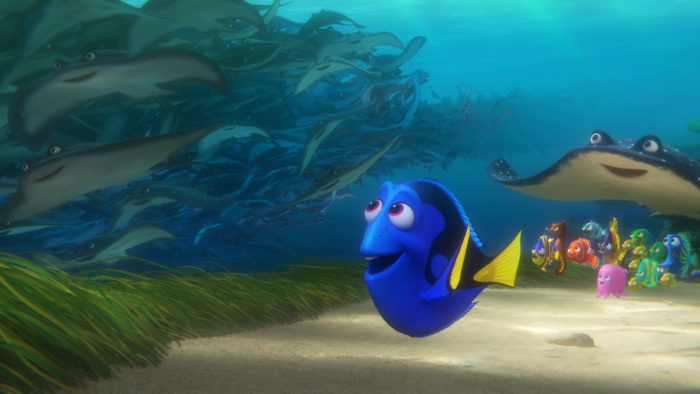 Finding Dory and friends