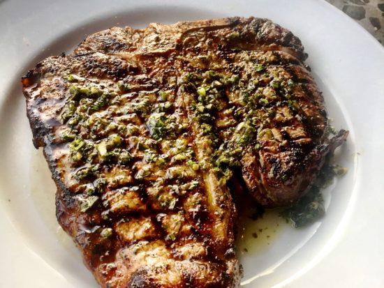 Barbecoa T-bone steak