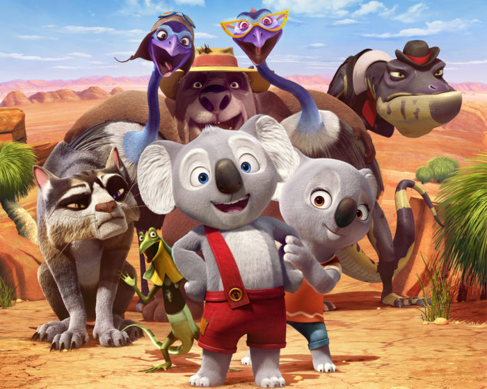 Blinky Bill the movie cast