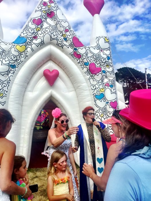 Camp Bestival 2016 Inflatable Church