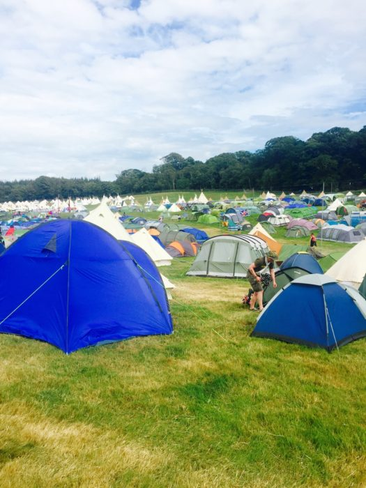 Camp Bestival 2016 Millets tent