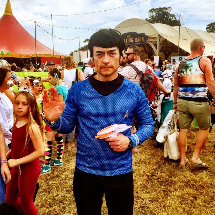 Camp Bestival 2016 Spock