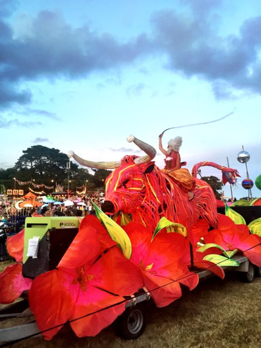 Camp Bestival 2016 carnival night parade