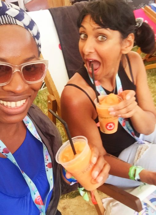 Camp Bestival 2016 rum punch