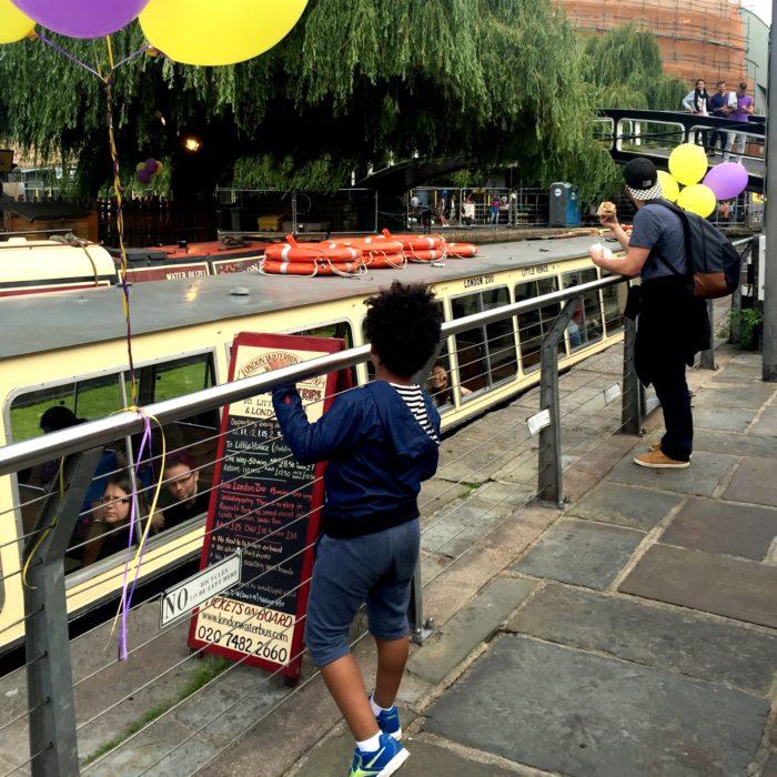 Kerb Camden London Waterbus Company
