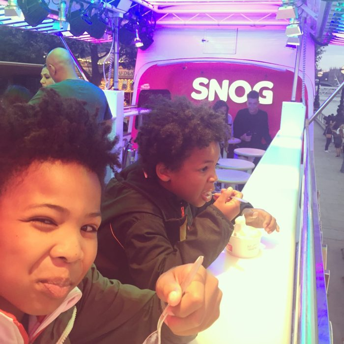 Southbank Centre Snog frozen yoghurt