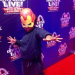 Marvel Universe Live Iron Man mask
