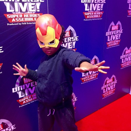 Marvel Universe Live Iron Man mask