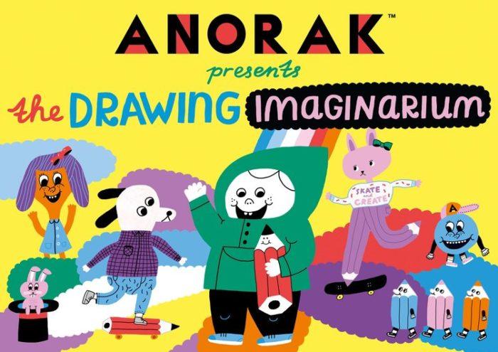 Anorak Drawing Imaginarium
