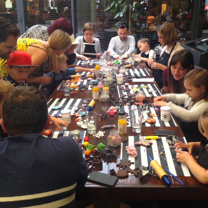 BKD kids baking Hoxton Hotel