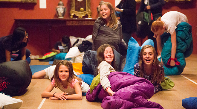 Dulwich Picture Gallery sleepover